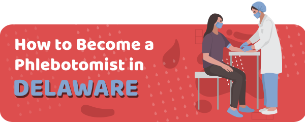 How to Become a Phlebotomist in Delaware