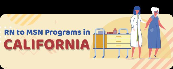 RN to MSN Programs in California